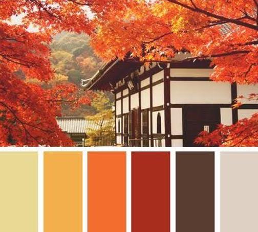 colores calidos