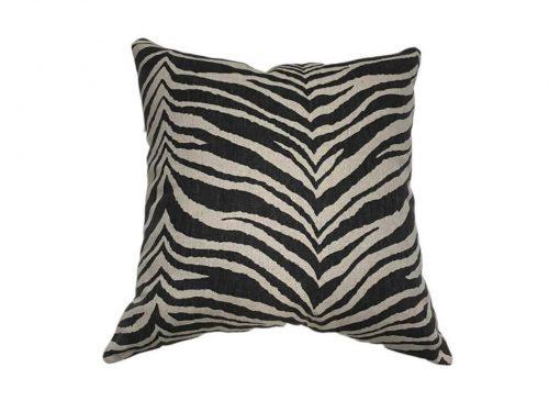 cojin zebra rustico