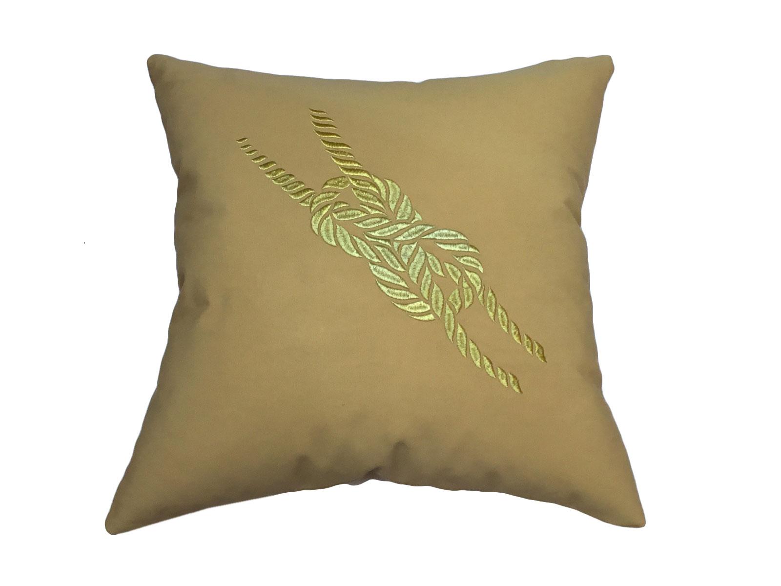 cojin amarras oro maiz