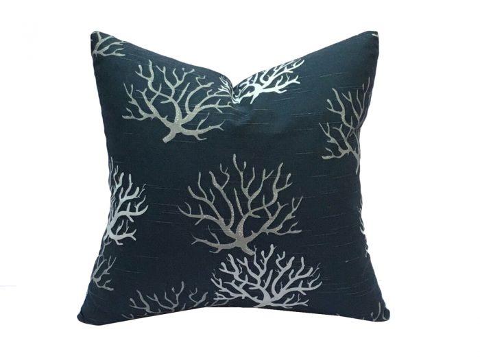 cojin corales azul