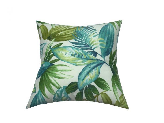 cojin palmas jade